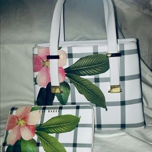 Ted Baker Garden trails bag and wallet very rare